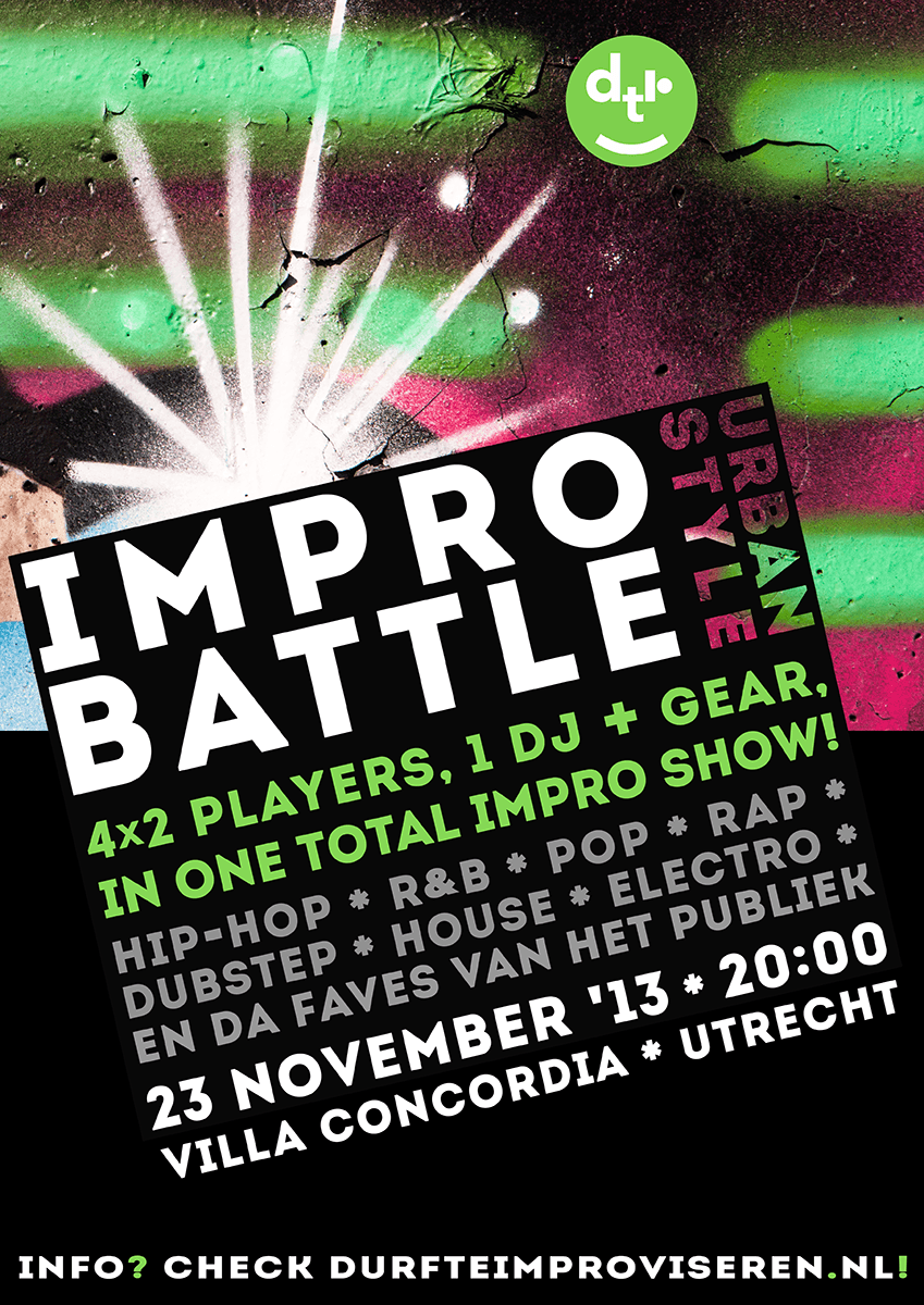 Impro Battle logo